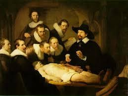 Lecciones de anatomía del Dr. Tulp. Rembrandt