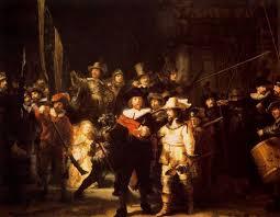 Noche de ronda. Rembrandt